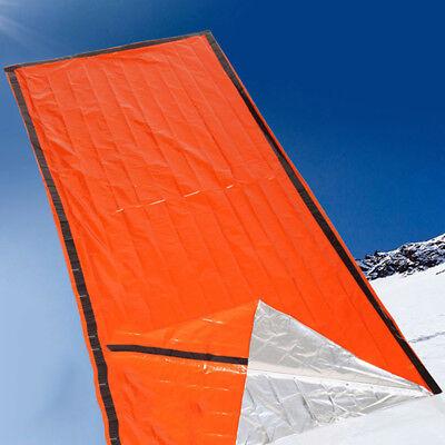Emergency Blanket Rescue Kit Thermal Space Survival Sleeping Bag Shelter Tool UK ()
