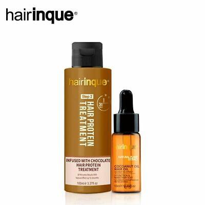 12% Chocolate Brazilian Keratin Hair Treatment Coconut Oil Set For Straightening