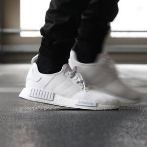 White Adidas NMD'S size 11
