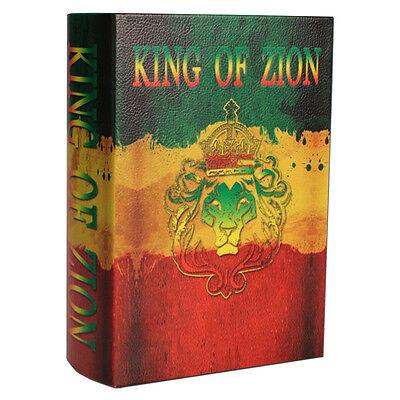 Kavatza Joint Box King of Zion Buch Geheimversteck Tabaktasche Drehunterlage