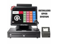 Complete package, ePos POS system for fast food shops, restaurants, grocery shops...