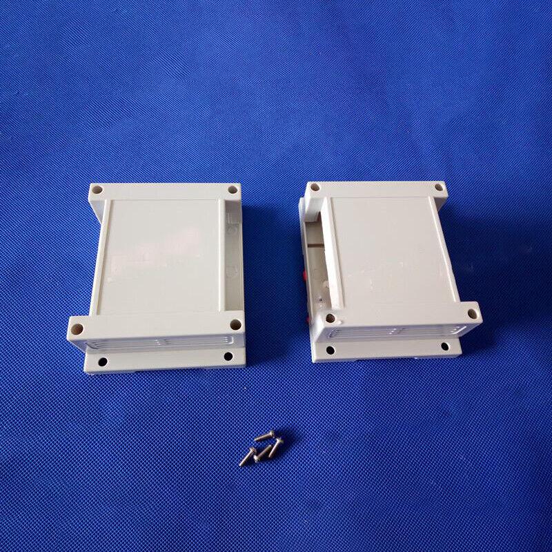plastic din rail project box electronics enclosure (1 pc) 115*90*40mm XE