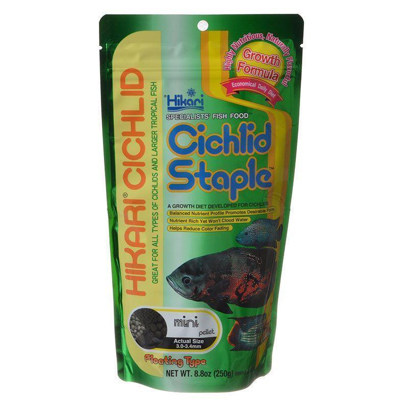 Hikari Cichlid Staple 8oz Mini Pellet Aquarium Fish Food Ebay