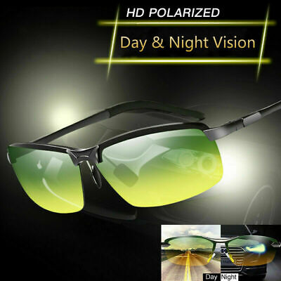 Tac HD+ Polarized Day Night Vision glasses Men Driving Sports Aviator (Mens Aviator Sunglasses Polarized)