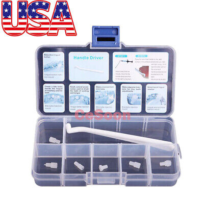 Dental Orthodontic Mould Mini Accessories Brackets Lingual Button Wire Injection