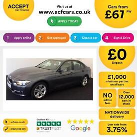 BMW 320 SPORT FROM £67 PER WEEK!