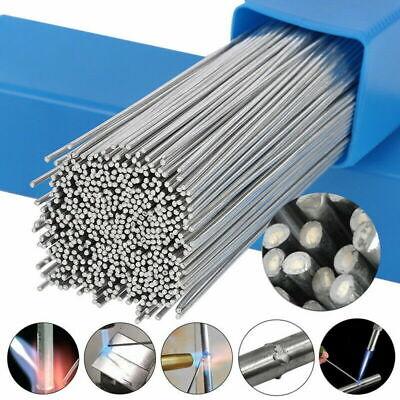 100pcs Easy Melt Welding Rods Low Temperature Aluminum Wire Brazing 1.6mm X 50cm