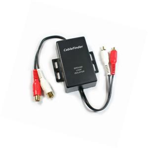 RCA Phono Ground Loop Isolator Noise Eliminator Car Radio Amplifier Filter