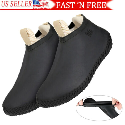 silicone recyclable overshoes rain waterproof shoe covers