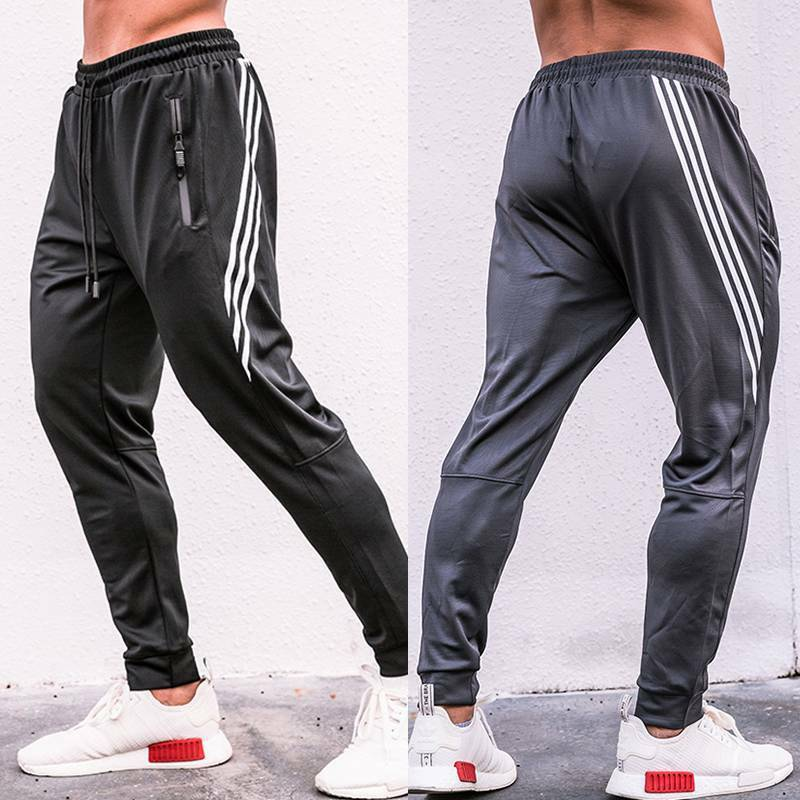 new mens casual soccer training pants sport