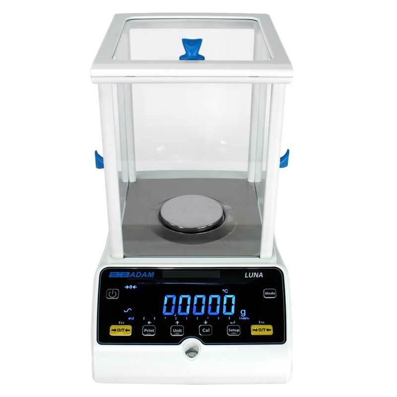 Adam Equipment LAB 124e 120g, 0.0001g, Luna Analytical Balance
