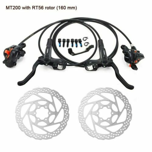 Shimano BR-BL-MT200 MTB Hydraulic Disc Brakes Set Pre