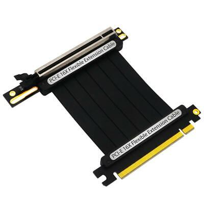 как выглядит PCIe 3.0 x16 PCI Express Riser Extender Cable Flexible High Speed 90 Degree GUP фото