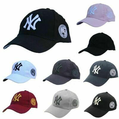 NEW Unisex New York NY Yankees Baseball Mens Women Hat Sport Snapback Cap Cotton