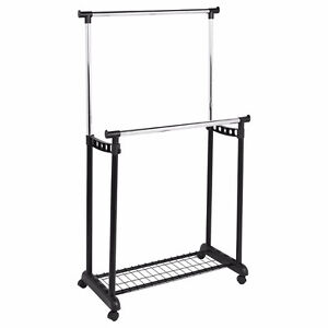 Garment Trolley Double Rack