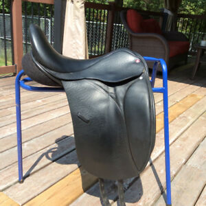 """17.5"""" Lovatt & Ricketts Ellipse DX Hoop Tree Dressage Saddle, W"""