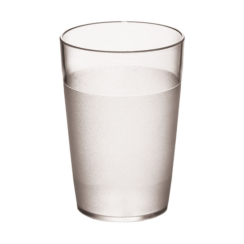 Paderno Sambonet Bicchiere acqua policarbonato infrangibile 10 pezzi 3 misure