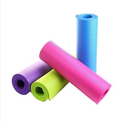 4mm Yoga Mat Gym Camping Non-Slip Fitness Exercise Pilates Meditation Pad US 5