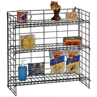 For Sale Counter Top Gum Candy And Snack Display Rack - 3 Tier Black