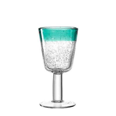 Leonardo 034749 Weißweinglas 250ml laguna Burano handgefertigt Weißwein Glas