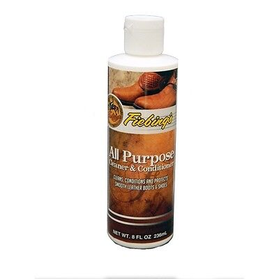 Fiebing's All-Purpose Leather Cleaner and Conditioner - 8 Ounce
