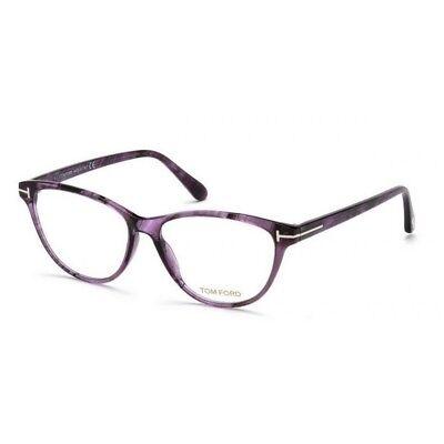 c99ea7c6da016 Tom Ford TF 5402 FT05402 080 Purple Swirl Optical Frame Women s Eyeglasses  54mm