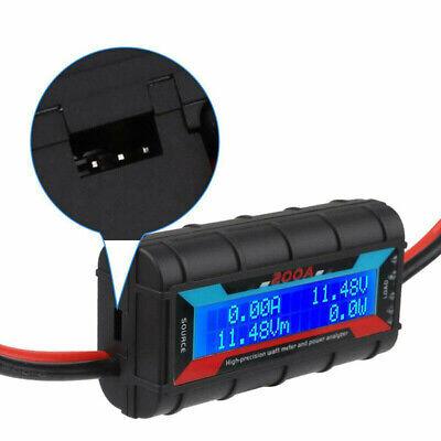 200a Digital Watt Meter Accurate Solar Power Analyser Lcd Display Rc Volt Amp