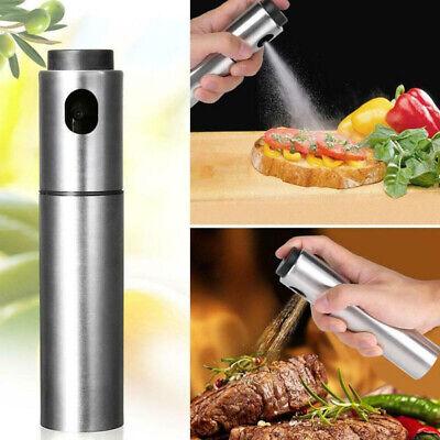 Portátil Aceite Botella Restaurante Cocina Freír Horneado Parrilla Plata Spray