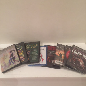 Musical Theatre DVDs - $5 each