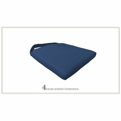 TK Classic Outdoor Cushion for Dining Chair in Navy