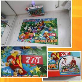 Huge floor puzzle Mickey Mouse and Friends 70cm x 100cm