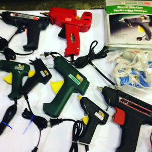 Glue Guns $3+up, great for crafts, art projects