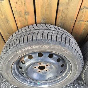 Winter Tires on rims - Michelin X-Ice Xi3 205/55R16 94H