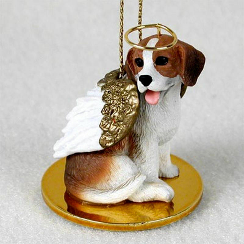 Beagle Ornament Angel Figurine Hand Painted