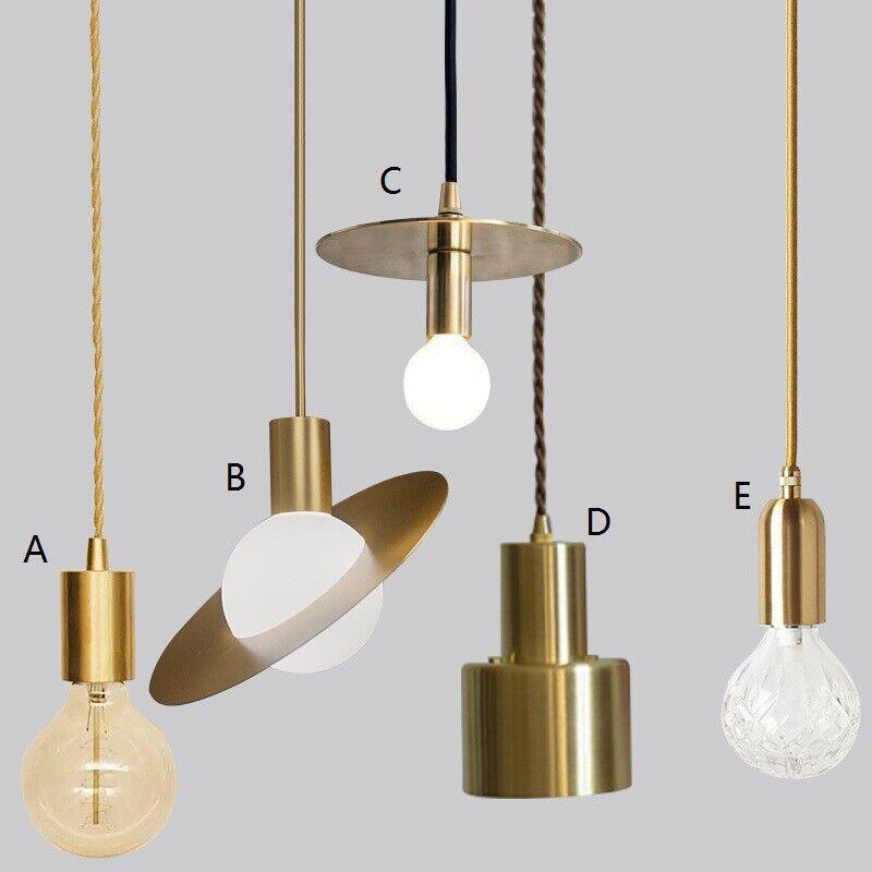 Details About Kitchen Pendant Light Bar Modern Lamp Study Lighting Gold Ceiling Lights