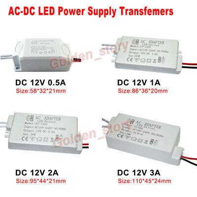 AC-DC Converter AC 110V 120V 220V 230V to DC 12V LED Driver Adapter Transformer 12v Ac To 120v Adapter