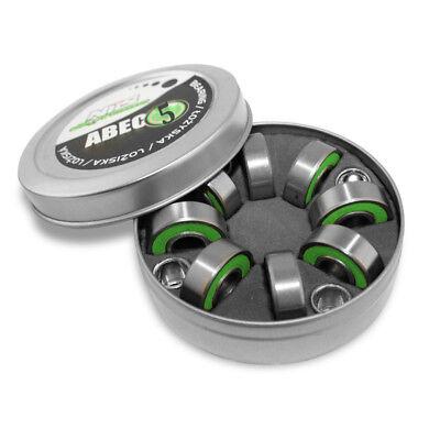 Kugellager Inliner Inlineskates ABEC5 RS 8St Lager Buchsen Ersatz Teile Bearings