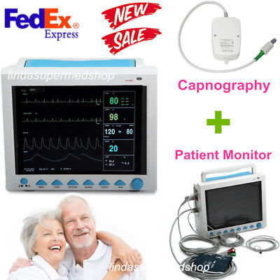 Contec Fda Portable Vital Sign Patient Monitor Multiparametercapnography Etco2