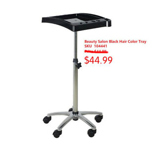 Salon Hair Color Tray Trolley Cart from $39.99
