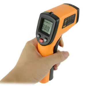 For Sell contact Laser Infrared Thermometer Temperature Gun Pyro