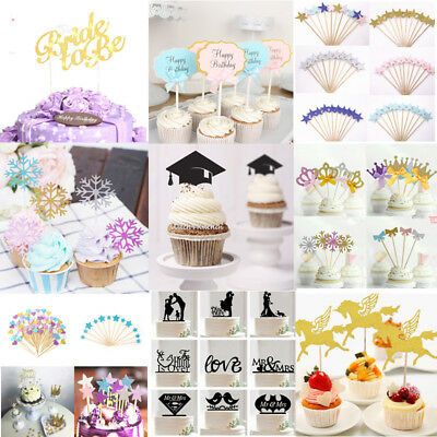 Creative Cake Topper Birthday Party Decoration Any Name Word Wedding Supply DIY
