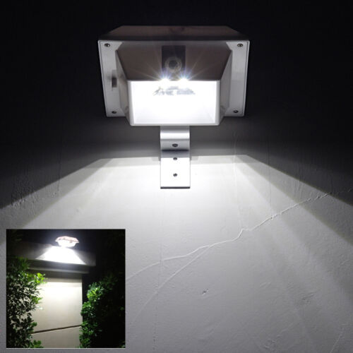 Solar Lights Roof: Solar Power Powered Outdoor Garden Light Gutter Fence Yard