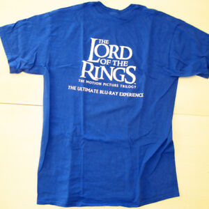 Lord of the Rings Limited Promo Blu-Ray T-Shirt