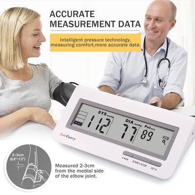 Automatic Upper Arm High Blood Pressure Monitor BP Cuff Heart Rate Machine Test
