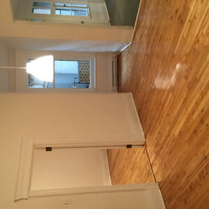 Renovated 4 1/2, 2 closed bedrooms, in the heart of the Mile End