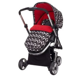 Obaby Chase Stroller-Eclipse (Complete with Footmuff, Raincover & Changing Bag!)