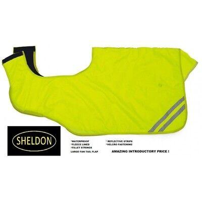 HI VIZ WATERPROOF EXERCISE SHEET/RUG WRAPAROUND / CUTAWAY - FLEECE LINED