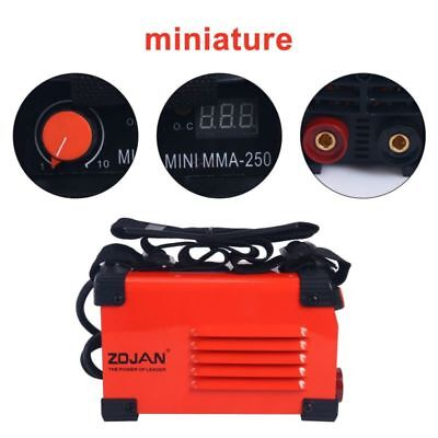 Red Handheld Mini Mma Electric Welder 220v 20-250a Inverter Arc Welding Machine