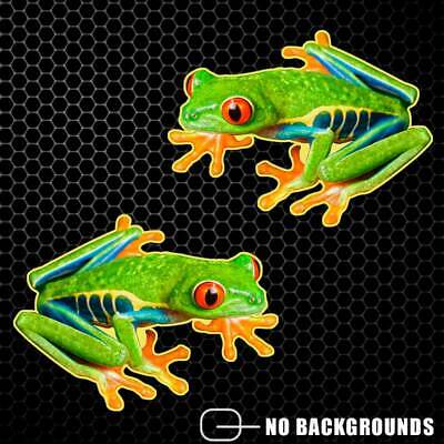 Tree Frog Sticker Decal Red Eyed Tropical Window Truck Car Yeti Cup Herpetology Red Tree Frog