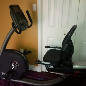 NordicTrack Commerical VR Pro recumbent bike